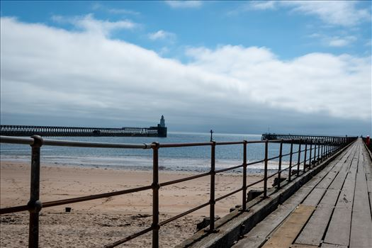 Blyth Pier, Northumberland by Graham Dobson Photography