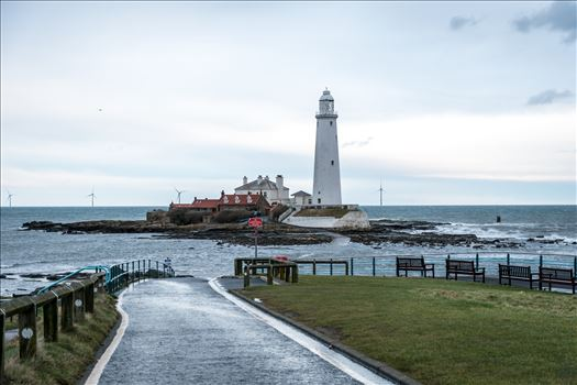 St Mary's Island, Whitley Bay. by Graham Dobson Photography