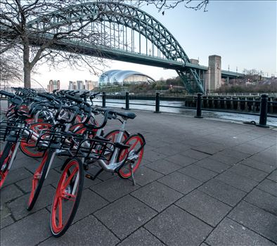 'A ride along the Quayside', Newcastle by Graham Dobson Photography