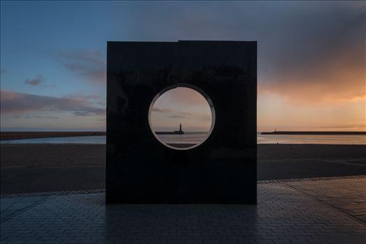 Roker Porthole at Sunrise by Graham Dobson Photography