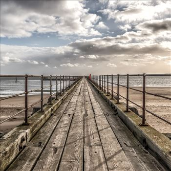 Blyth Pier, Northumberland in colour by Graham Dobson Photography