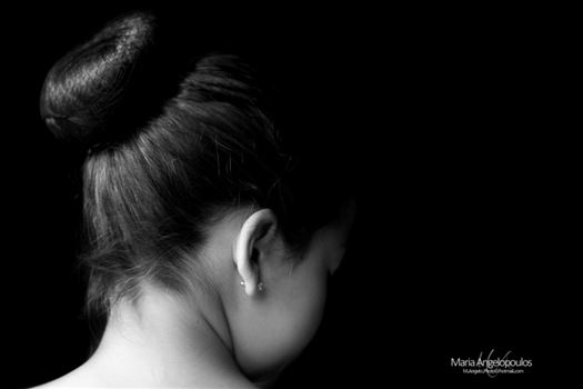 ChildHairBun by Maria Angelopoulos Photogrpahy