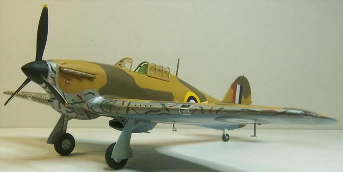 Airfix Hurricane Trop 6.JPG by Alex Gordon