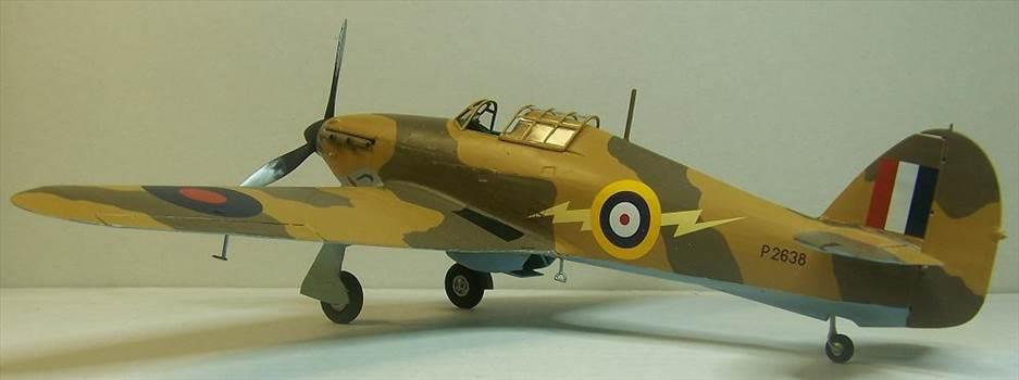 Airfix Hurricane Trop 7.JPG by Alex Gordon