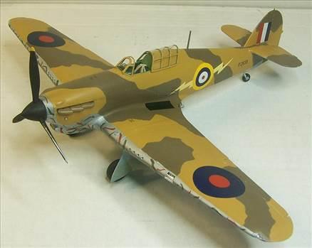Airfix Hurricane Trop 1.JPG by Alex Gordon