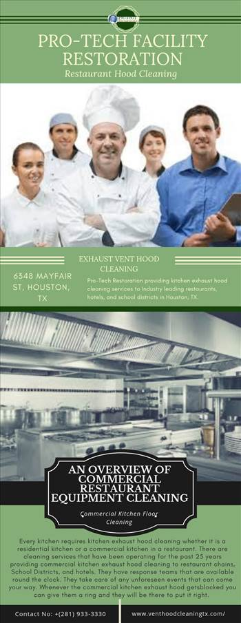 We offer commercial kitchen exhaust hood cleaning, restaurant equipment & floor cleaning, exhaust fan hinge kit installation & exhaust system cleaning services in Houston, TX. Get more details visit at https://www.venthoodcleaningtx.com/