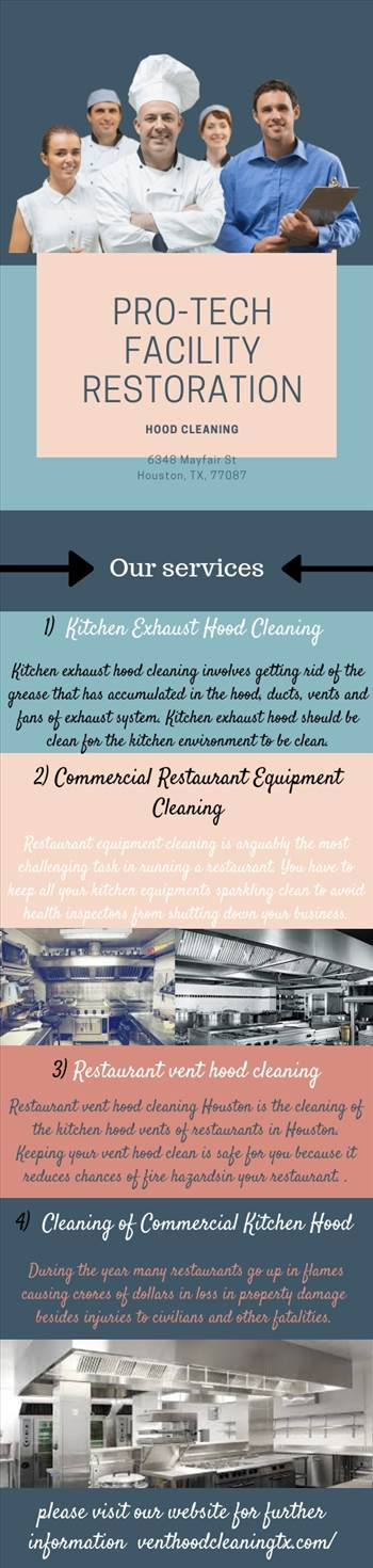 We offer commercial kitchen exhaust hood cleaning, restaurant equipment & floor cleaning . Get more details visit at https://www.venthoodcleaningtx.com/