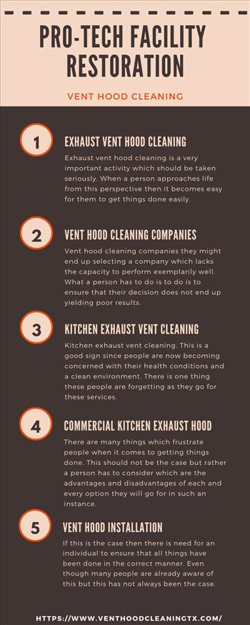 We offer commercial kitchen exhaust vent hood cleaning, restaurant equipment cleaning, exhaust fan hinge kit installation & exhaust system cleaning services in Houston, TX. venthoodcleaningtx.com/