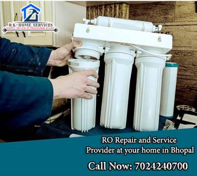 RO service in Bhopal by RK Home Services