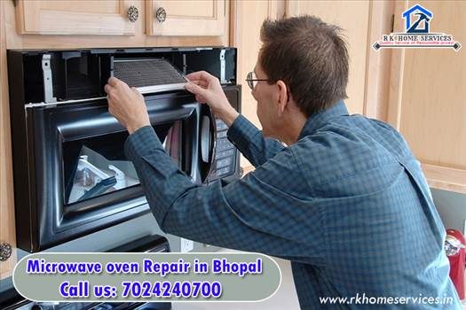 Microwave oven repair in bhopal by RK Home Services