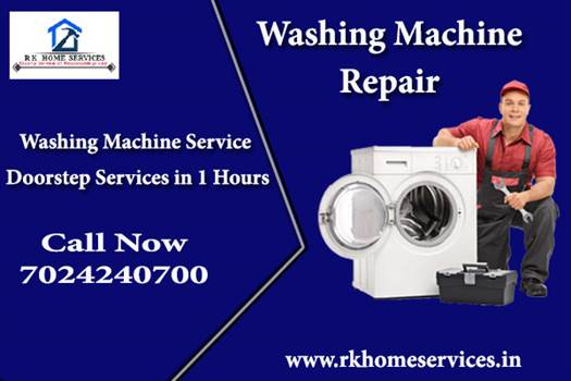 Washing Machine service in Bhopal by RK Home Services