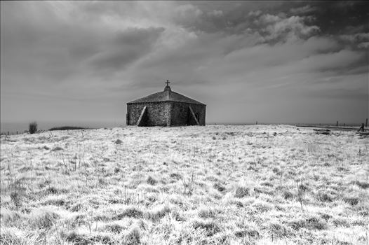 The Church of St. Aldhelm's Head by James Etchells Photography