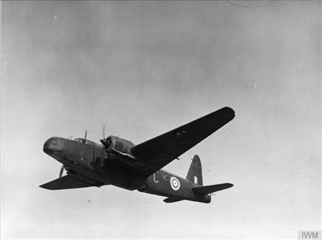 Wellington Mark IC, torpedo bomber Z9099 C, of No. 38 Squadron RAF, in flight over the Western Desert.jpg by Tony