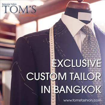 Tom's Fashion - Exclusive Custom Tailor in Bangkok.png by Toms Fashion