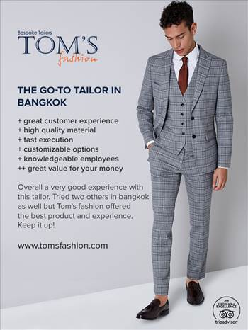 Tom's Fashion - Go to Tailor in Bangkok.png by Toms Fashion