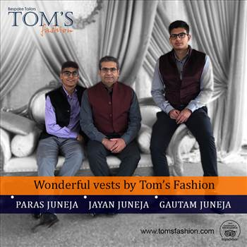 Happy Customers with quality services by Tom's Fashion by Toms Fashion