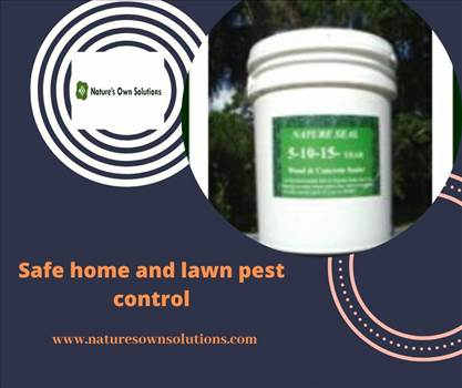 Safe home and lawn pest control.gif by Naturesownsolutions