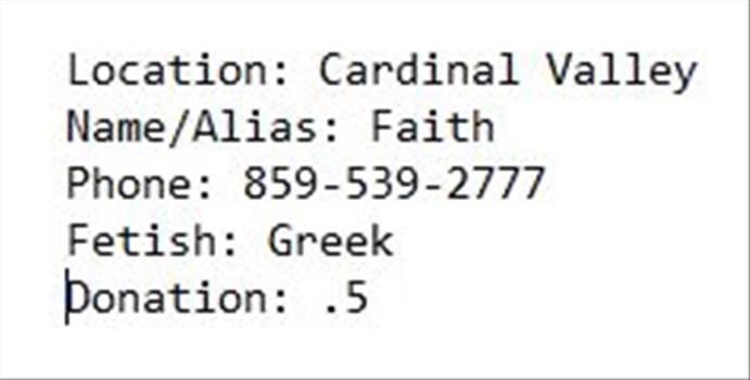 Faith-Info by chanceky