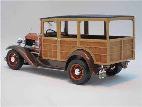 Monogram 30 Ford Woody Rear Angle.JPG by JerseyDevil