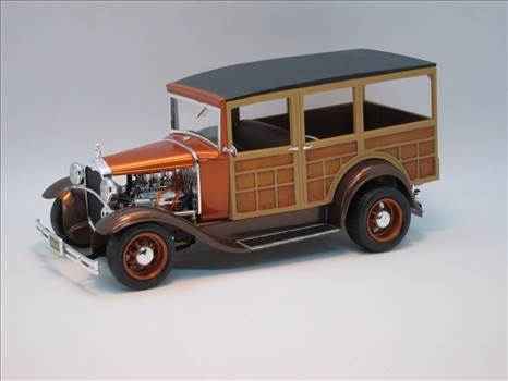 Monogram 30 Ford Woody Front Angle.JPG by JerseyDevil