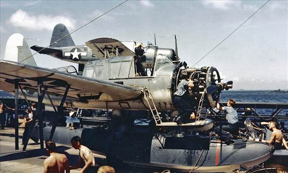 OS2U-Kingfisher-maintenance-USS-South-Dakota.jpg by modeldad