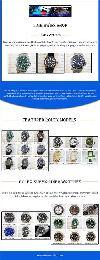 Rolex Watches by Timeswissshop