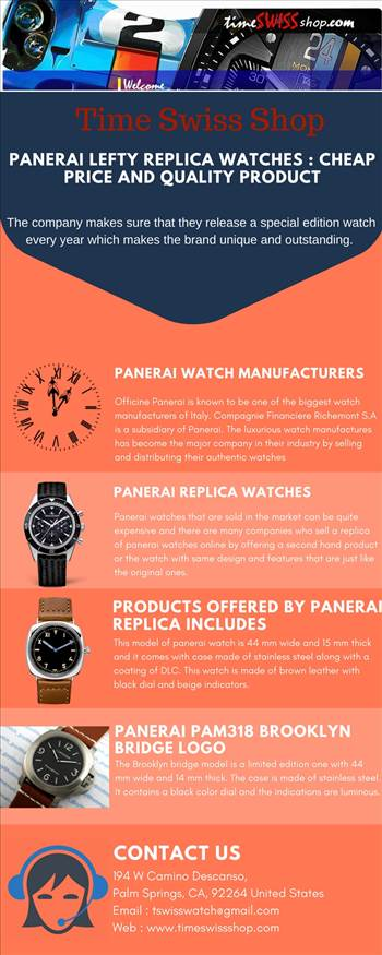 Panerai Lefty Replica by Timeswissshop
