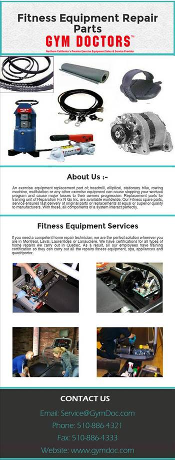 Fitness Equipment Repair by gymdoctors