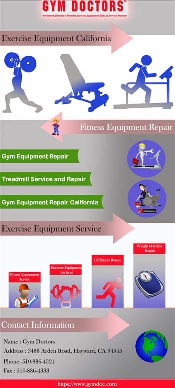 Gym Equipment Repair California by gymdoctors