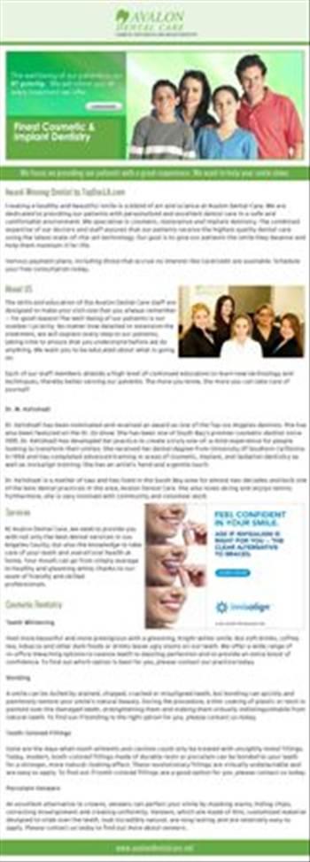El Segundo Cosmetic Dentist by avalondentalcare