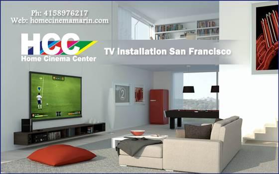 TV installation San Francisco.jpg by Homecinemacenter