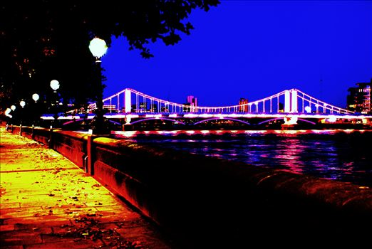 London Embankment 1 by PopArtMediaProductions