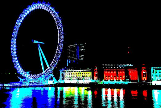 London Eye (2).jpg by PopArtMediaProductions