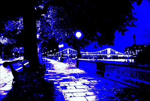 London Embankment 2 by PopArtMediaProductions