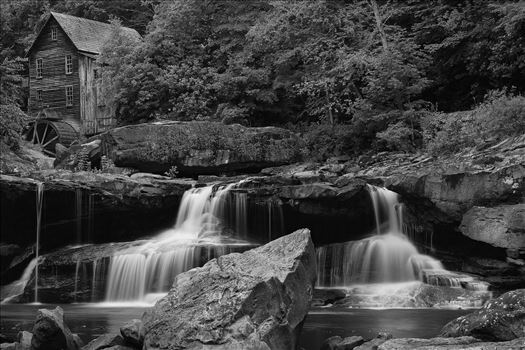 Glade Creek Grist Mill by Buckmaster