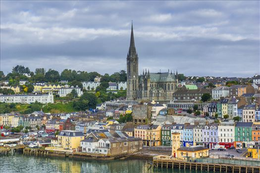 Port in Cobh, Ireland by Buckmaster