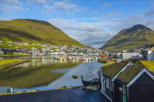 Klaksvik Harbor, Faroe Islands by Buckmaster