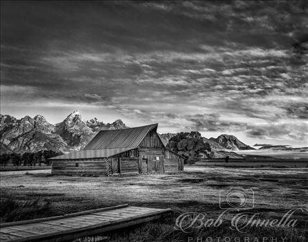 Iconic Mormon Row Barn, Wyoming 2018 by Buckmaster