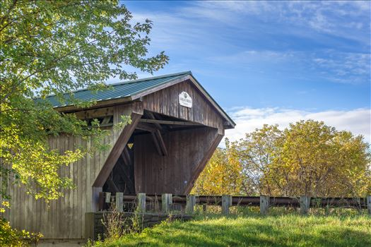 Gorham Covered Bridge by Buckmaster