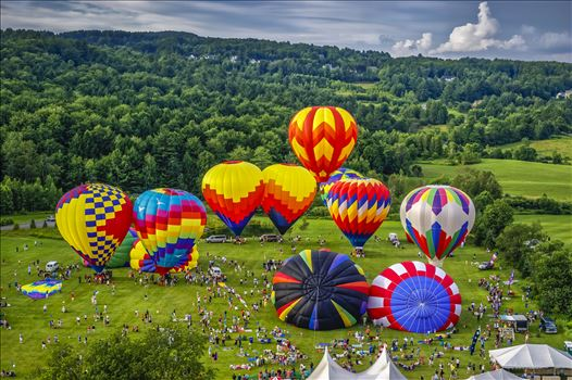 StoweFlake Balloon Festival 2010 by Buckmaster