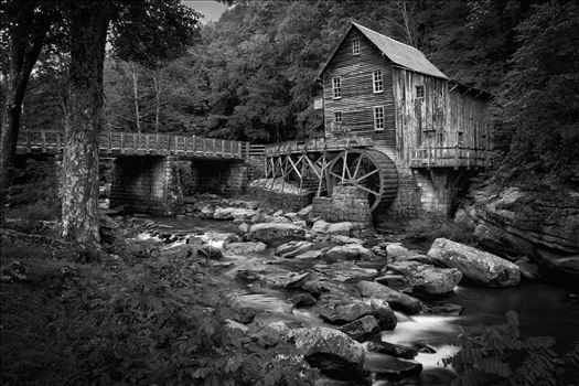 Glade Creek Mill, Babcock State Park, WV by Buckmaster