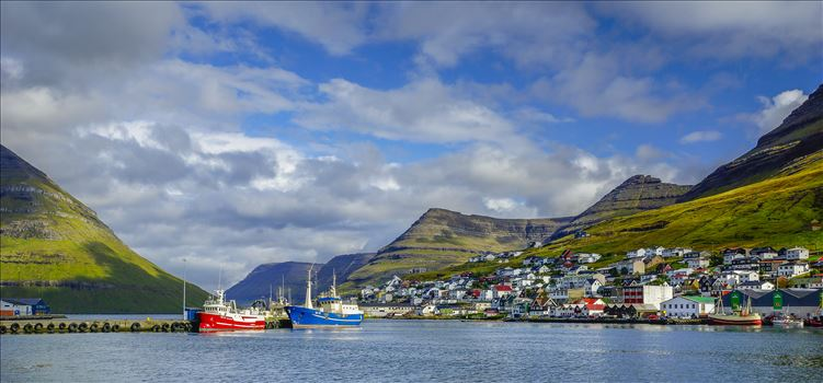 Klaksvik,Faroe Islands by Buckmaster