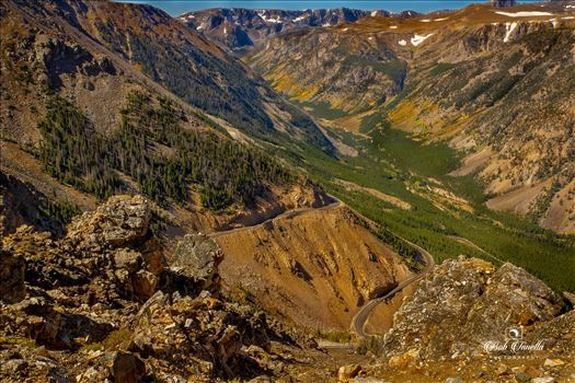 BearTooth Highway, Montana/Wyoming Border by Buckmaster