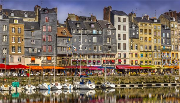 Honfleur, France by Buckmaster