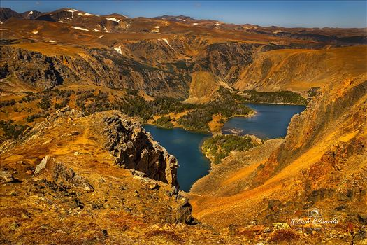 2 Lakes On The Beartooth Highway by Buckmaster