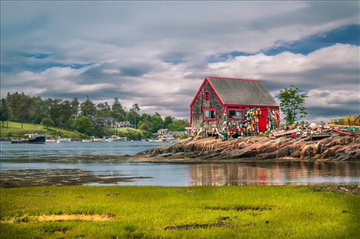 Fishing Shack, Bailey's Island, Maine by Buckmaster