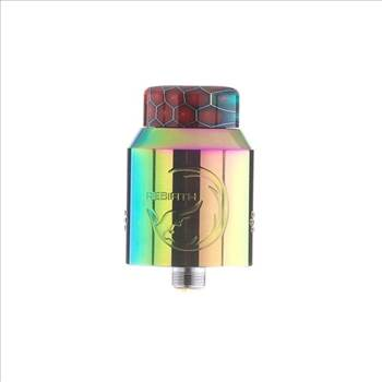 authentic-hellvape-rebirth-rda-rebuildable-dripping-atomizer-w-bf-pin-rainbow-stainless-steel-24mm-diameter.jpg by Trip Voltage