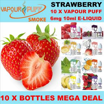VAPOUR PUFF 6MG STRAWBERRY.png by Trip Voltage