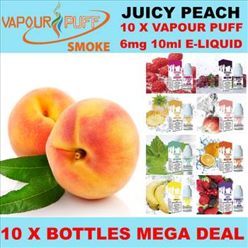 VAPOUR PUFF 6MGRED PEACH.png by Trip Voltage