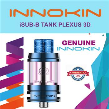 Innokin isub blue.png by Trip Voltage